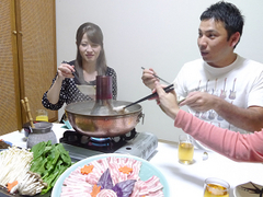 【家族同室】夕食は部屋食で決まり☆ちゅら豚しゃぶしゃぶ付き!素泊まり